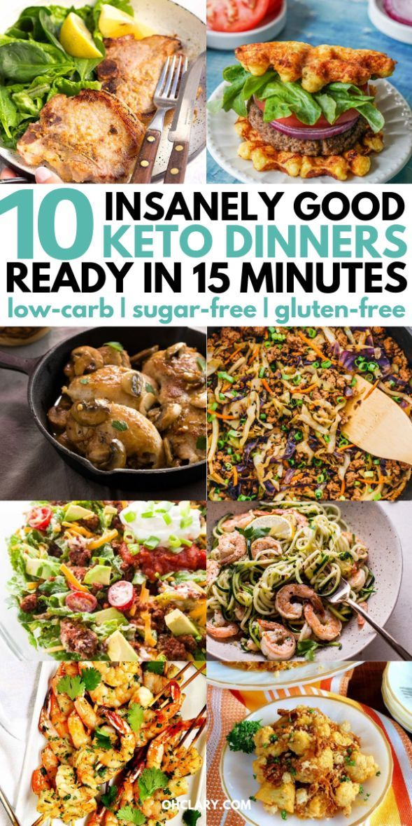 10 Quick Keto Dinner Recipes That Are Ready In Less Than 15 Minutes