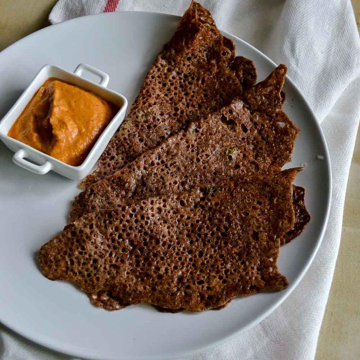 Instant Ragi Dosa. Ragi Dosa made with Ragi flour and rice flour. Quick recipe…