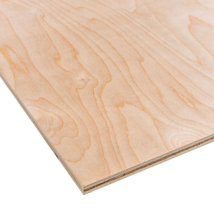 Underlayment Common 7 32 In X 4 Ft X 8 Ft Actual 0 196 In X 48 In X 96 In 431178 The Home Depot Hardwood Plywood Oak Plywood Plywood Projects