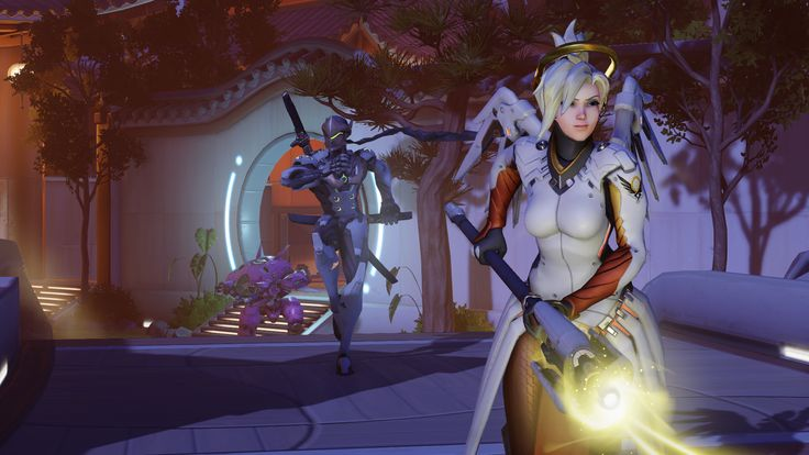 Overwatch's Mercy is getting massive changes and losing her mass resurrection https://link.crwd.fr/26Su