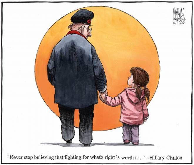 2016-11-11 - Editorial Cartoon