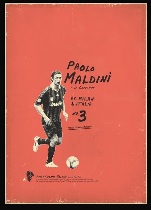 Paolo Maldini Artwork.