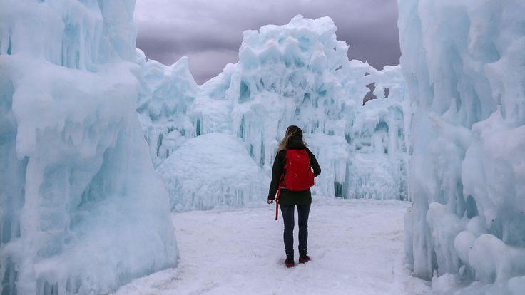 IJskastelen  winterstad Edmonton!