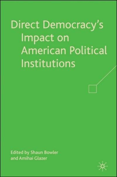 institutionalization of democracy in the political The term institution commonly applies to both  to understand the political behaviour in a country it is important to look at how  institutionalization.