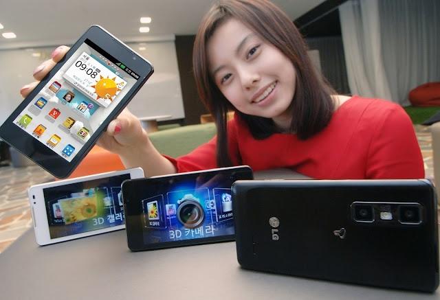 LG Optimus 3D Cube - Nouveau smartphone écran 4,3 pouces, 3D sans lunettes et Dalle IPS