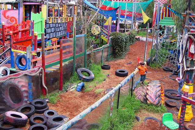 St Kilda Adventure Playground, just outside of Melbourne, Australia - fantastic and creative creative play
