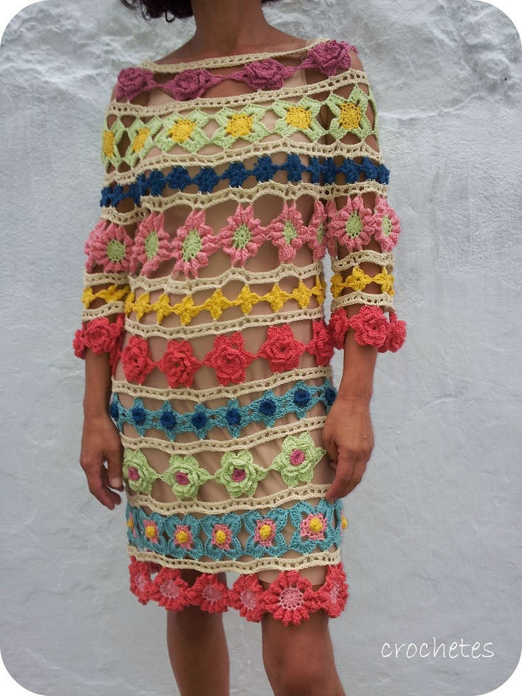 Crochet Flowers ~ Inspiration