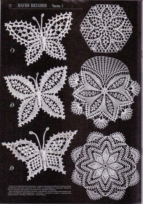 Les 25 meilleures id es concernant napperons au crochet - Bijoux au crochet modele gratuit ...