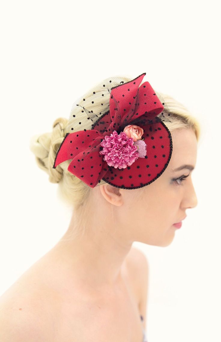 Vintage hat/Clara made