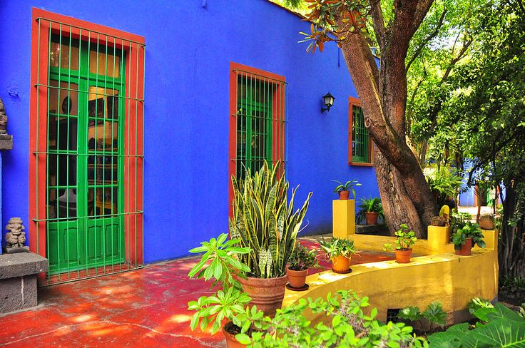 frida's house mexico city - Google Search