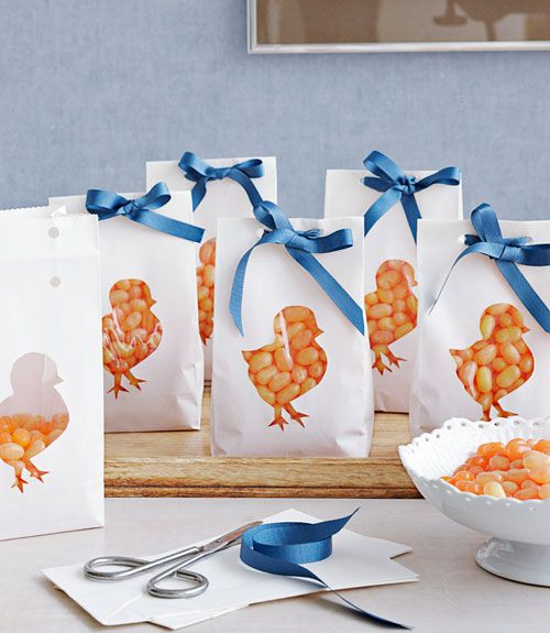Spring Chick Goody Bags by countryliving  #Goody_Bags #Chick