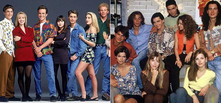 Мода 90 х годов из сериалов