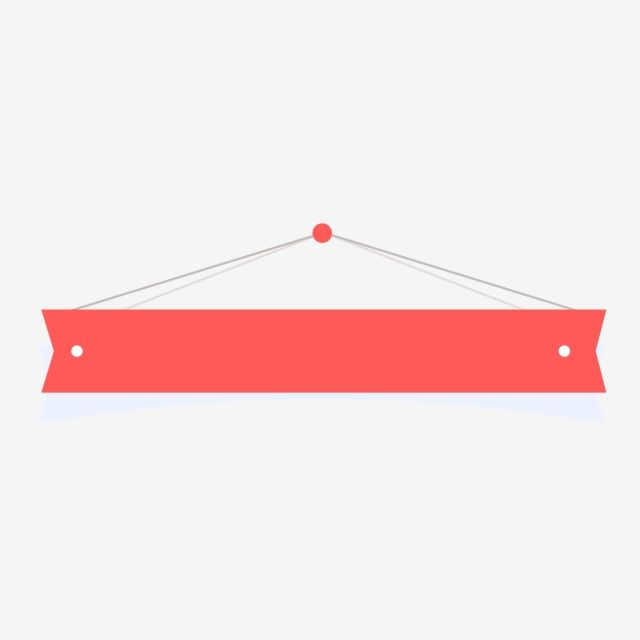 Red Banner Material Banner Banners Red Banners Png And Vector With Transparent Background For Free Download Banner Banner Vector Standee Design