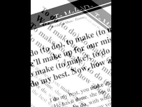 ▶ Etienne - To Make Do (from the cd Grammar Jams 2) - YouTube