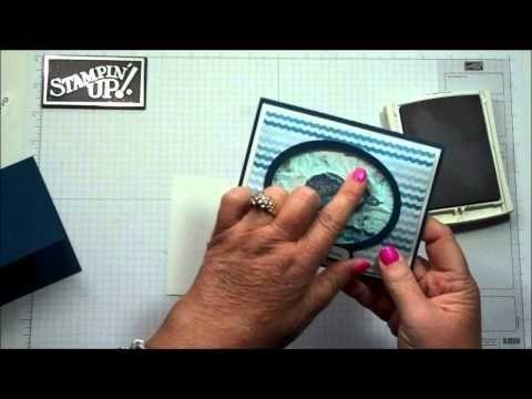 Water Gel card with Dawn - YouTube