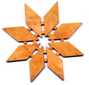 ... wooden trivet teak see more 1 vintage fish wooden trivet teak etsy com