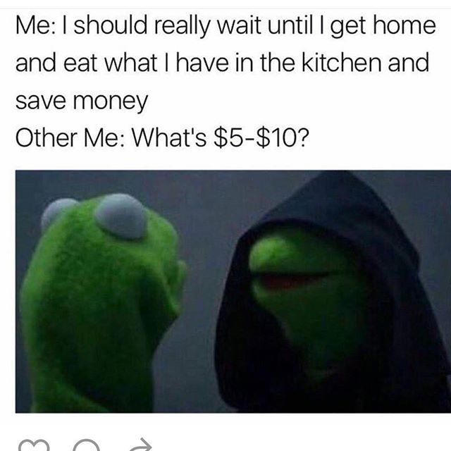 Guilty af ! #kermit #true #lol #smh #food