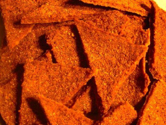 Rawritoss  Finally, a recipe for Doritos.    Yep -- those crazy-flavored, MSG loaded, GMO  full Superbowl snacks -- with a healthy spin.