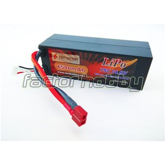 YA EN STOCK en FACTORHOBBY Bateria Lipo Vant Battery 4S 14,8v 6500 mAh 75C/150C Competicion Radio Control. Potencia especial para coches 1/8 eléctricos. http://www.factorhobby.com