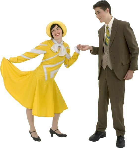 Costumes for thoroughly modern millie millie dillmount jimmy smith