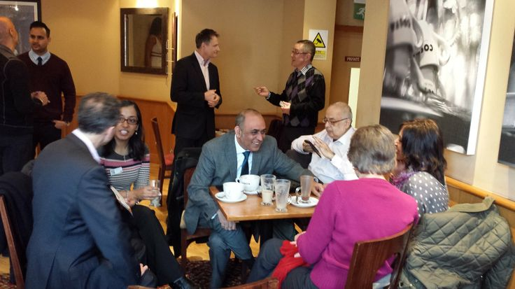 #Link4Coffee #Ruislip March 2014 #L4G deep conversations & community building!