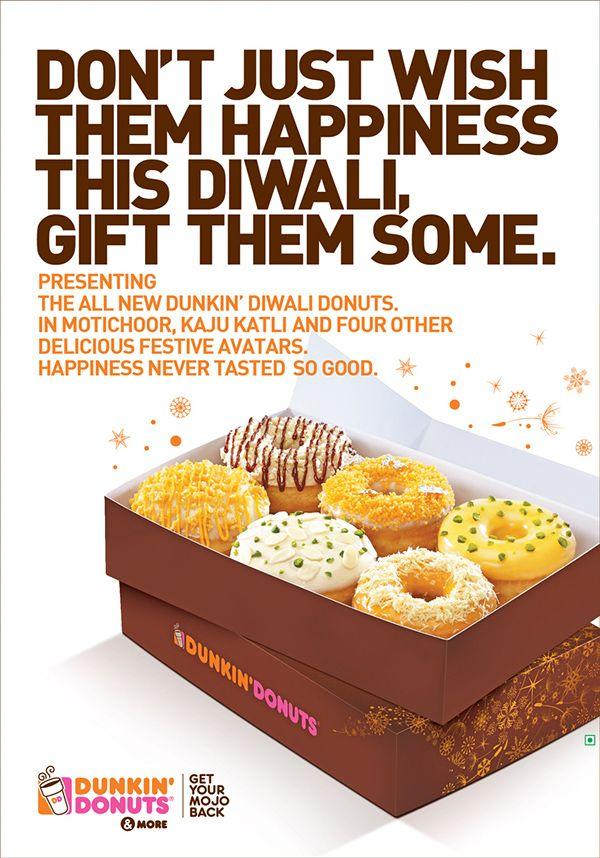 Dunkin' Donuts Diwali 2014 on Behance