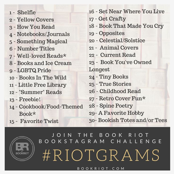 63 best book riot events book giveaways contests news and more join book riot for a month of instagramlitsy bookish posts with riotgrams fandeluxe Gallery
