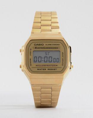 Casio A168WG-9EF Gold Plated Digital Watch