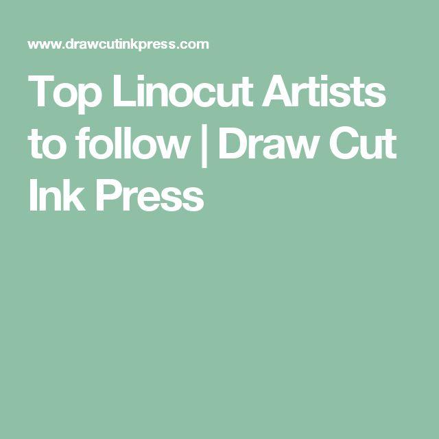 Top Linocut Artists to follow   Draw Cut Ink Press