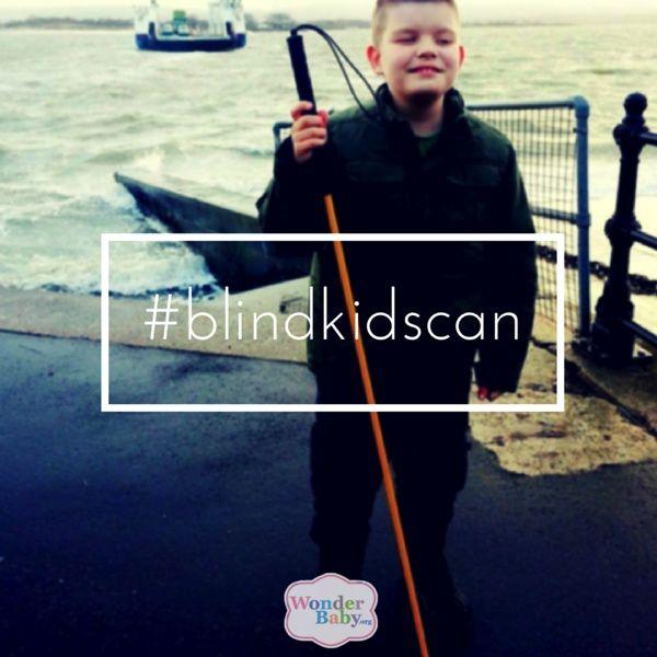 #blindkidscan