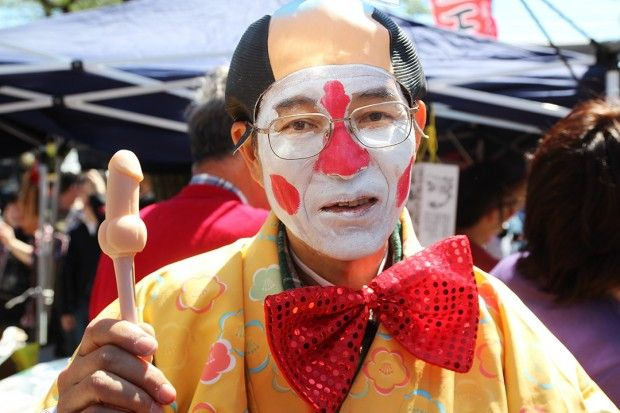 Le festival du pénis au Japon, un défilé de phallus en tous genres