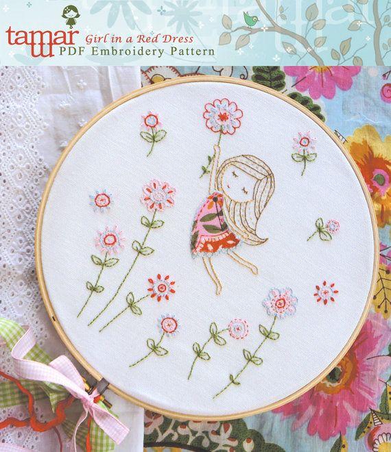 Descargar patrón bordado instante diseño de por TamarNahirYanai