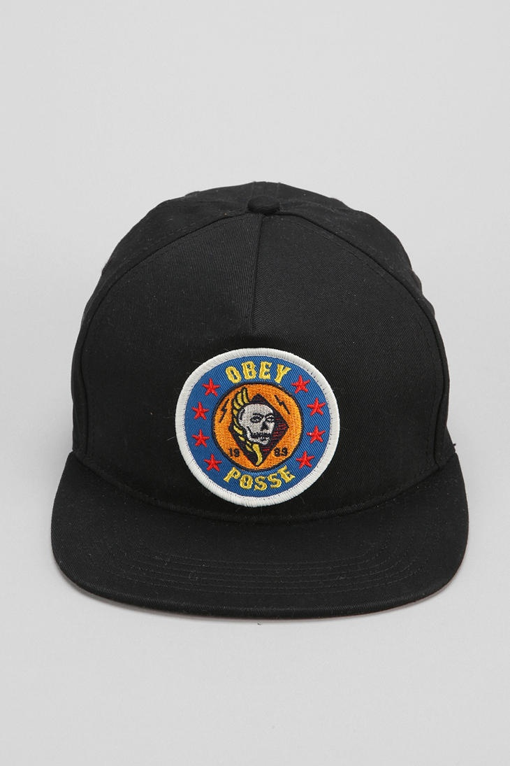 OBEY Kill Em All Snapback Hat #urbanoutfitters