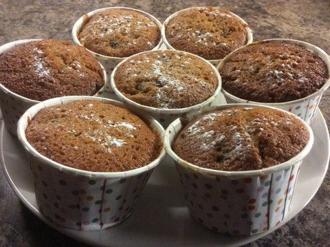 Mincemeat Cake in Pleated Cupcake Cases. Recipe available on the website at: www.kitchenrules.co.uk The pleated cupcake cases are really special and great to use - also available on the website.