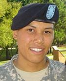 Rest easy, Bushmaster.    Army Pfc. Mykel F. Miller  Died September 7, 2007 Serving During Operation Enduring Freedom  19, of Phoenix; assigned to the 1st Battalion, 158th Infantry Regiment, Arizona Army National Guard Phoenix; died Sept. 7 in Qalat, Afghanistan, of wounds sustained during combat operations.