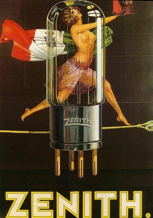 """Sensualidad que cautiva al consumidor: el otrora """"vacuum tube"""" del transistor."""