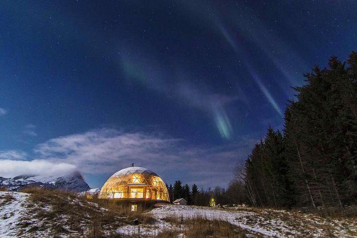 Una familia vive en el ártico en una casa ecológica - Taringa!
