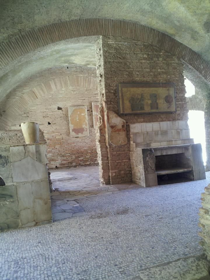 Ancient Roman Kitchen