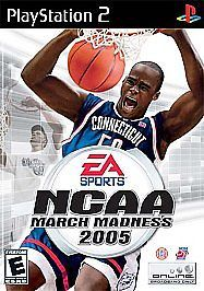 NCAA March Madness 2005 PS2, Acceptable PlayStation2, Playstation 2 Video Games #ElectronicArts