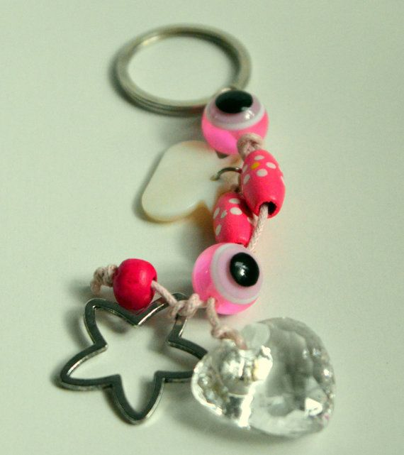An impressive 2015 Good Luck #Key Chain to put your  home or #car #keys for girl teenagers . Another idea is to decorate your home and bring good luck to your #house and your ... #keychain #brelock #holder #holidays #christmas #ornament #decoration