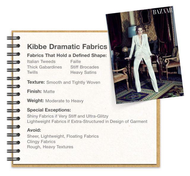Kibbe Dramatic Fabrics by fairypeak on Polyvore