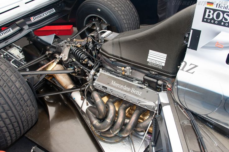 McLaren MP4-13 Mercedes (Chassis MP4-13A-04 - 2012 Goodwood Festival of Speed) High Resolution Image
