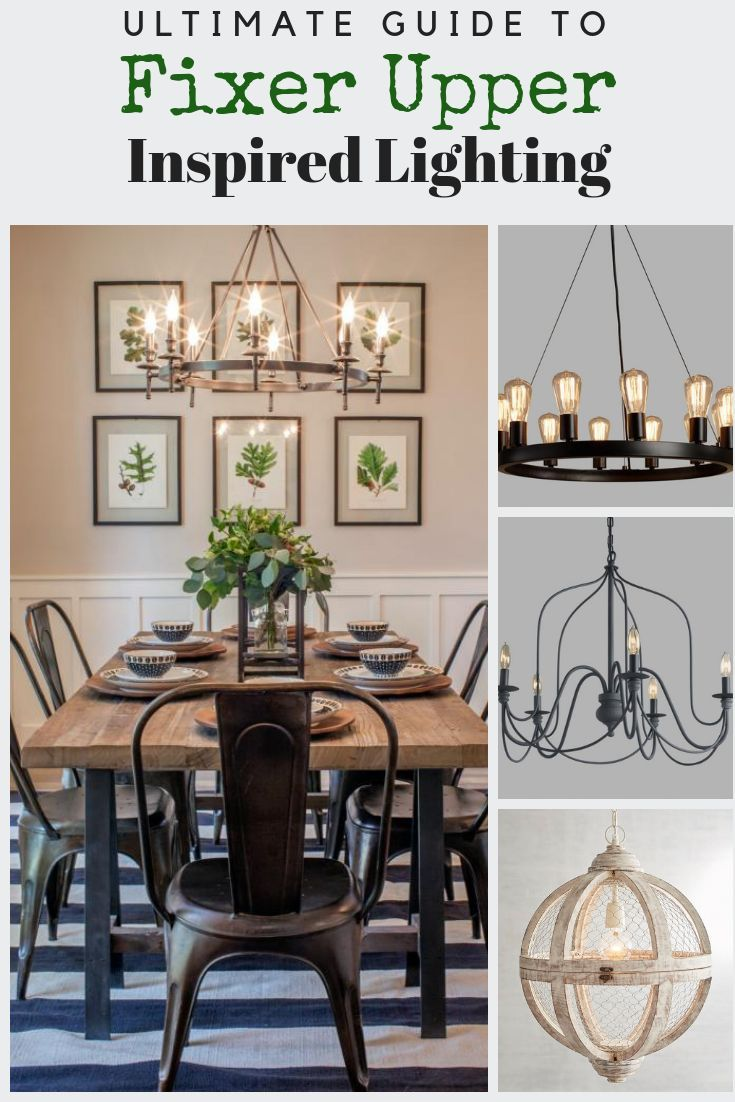 Joanna S Favorite Light Fixtures Used On Fixer Upper