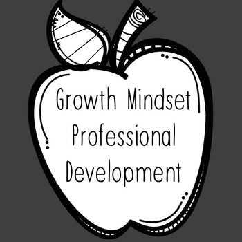 "Professional Development to be used with teachers, counselors, and other school personnel. Fully resourced with hyperlinks to more resources. Everything you need to teach a PD on growth mindset. Includes information about the book ""My Fantastic Elastic Brain"" and reproducible goal setting sheet for use with students.Check out my blogpost detailing this PD at: http://www.counselorup.com/blog/growth-mindset-pd"