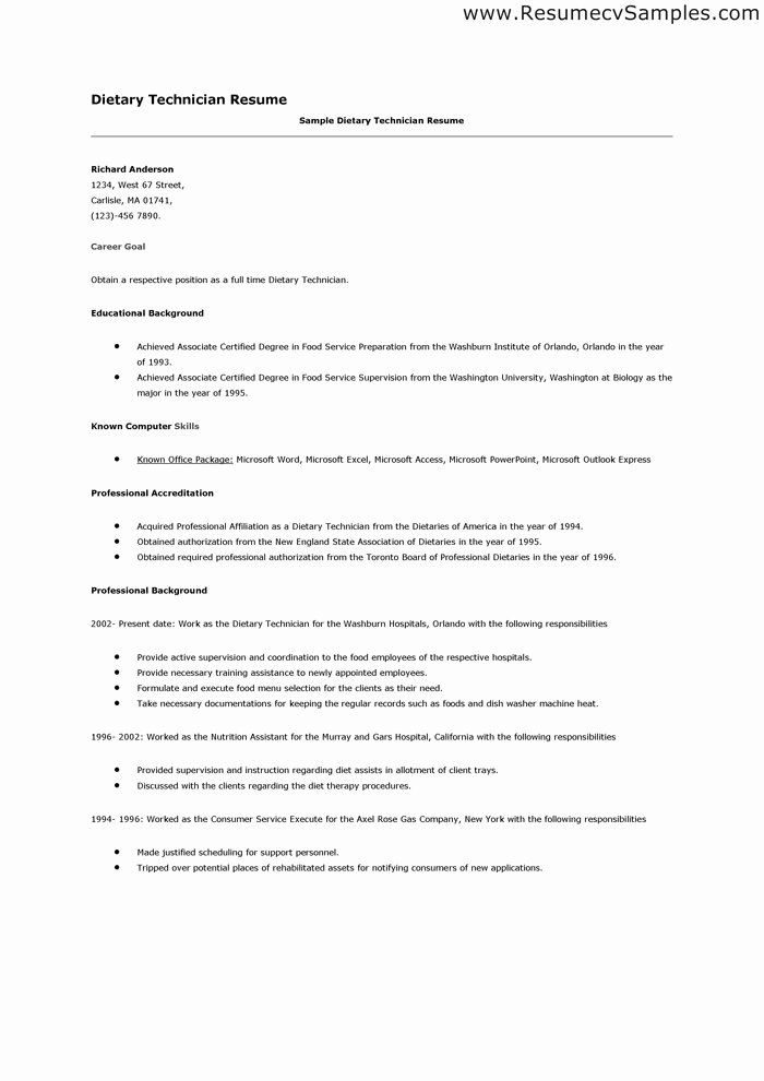 Dietary Aide Job Description Resume Fresh Resume For Tary Aide Hoyuk Westernscandinavia In 2020 Manager Resume Dental Hygienist Resume Cover Letter For Resume