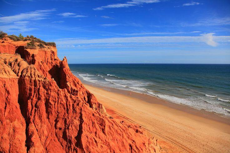 La Praia da Falésia en Algarve