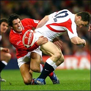 Rugby tackle. #wales #cymru #rugby
