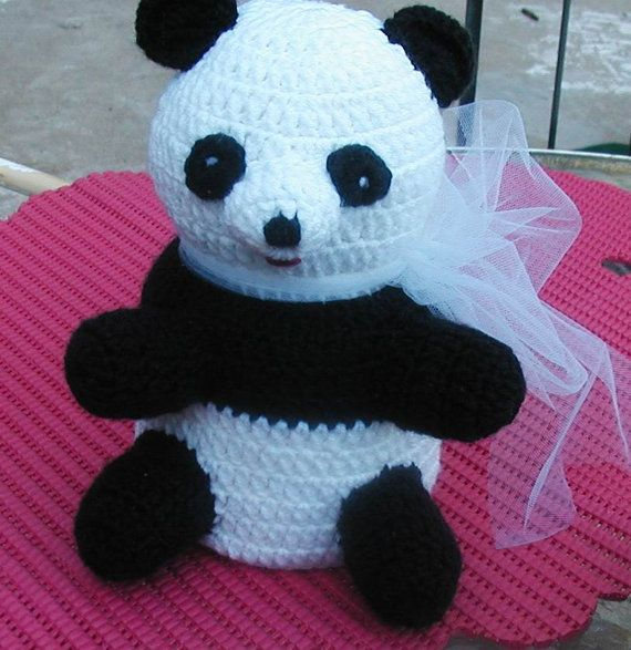 i think i want a ridiculous toilet paper cover thing for my new bathroom. how about this panda @Emza Giberson