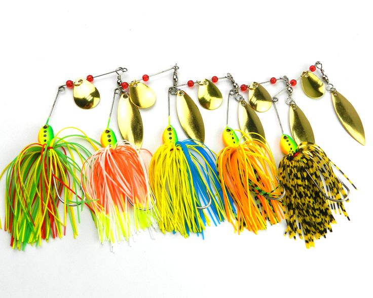 HENGJIA 300PCS 16.3GG Spinners hard baits spinner bait buzz bait fishing lure fishing bait spoons rubber jig SB001