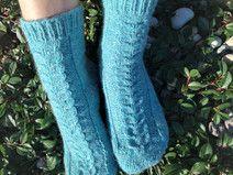 Knit women wool socks